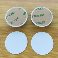 Soporte de plástico de sublimación de sublimación en blanco de venta caliente con inserto de metal Trasnfer de calor Titular de sublimación Soporte Bionanosky