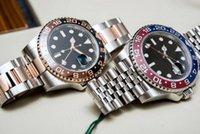 El último hombre mira totalmente automático reloj mecánico tamaño 40 mm banda de acero inoxidable cerámico bisel de cristal hardlex macho reloj de pulsera 168