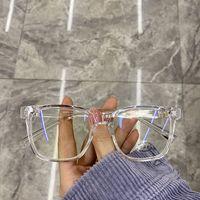 안티 푸른 빛 안경 여성 빈티지 컴퓨터 gafas 남자 안경 광학 유리 일반 lunettes 드 솔 프레임 게임 안경