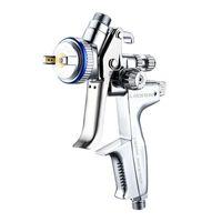 Профессиональный HVLP Распылительные пушки 1.3 мм Опрыскиватель Краска Аэрограф Пневматика Мини-Спрей Пневматический Пистолет Окраска Автомобильный инструмент Инструмент Ремонт мебели 210719