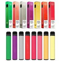Puff Plus Одноразовые E-Cigarettes Pen Pods Устройство 800 Загонией 3,2 мл Картриджи 550 мАч Батарея 80+ Флавес Барс Puffbar