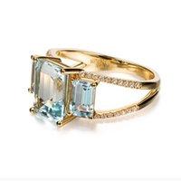 Keramische Sternfarbe Diamant Fashion Persönlichkeit Trend Paar Ring Designer Liebhaber Ringe