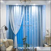 Fensterbehandlungen Textilien Home GartenGene Out Star Blackout für Schlafzimmer Wohnvorhang Fertig Drapes Prinzessin Kinderzimmer F1218 DRO