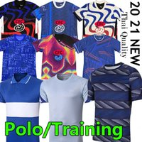 2020 2021 Chelsea Camisolas de futebol CFC Polo Treinamento Havertz Kante Werner Pulisic Ziyech Abraham Monte Football Shorts Homens Kit Kit Pólos Baby Calças camisetas