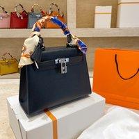 Luxurys Designer-Taschen Platin-Paket Totes Rindsleder Marke Original Frauen Handtaschen 2021 Nachahmung Die große Kapazitäts-Tasche Klassische Mode
