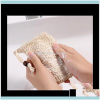 Brushes, Sponges Scrubbers Bathroom Aessories Home & Gardennatural Exfoliating Mesh Sisal Soap Saver Bag Pouch Holder For Shower Bath Foamin