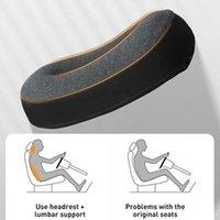 Pillow Baseus Suspension Cabin Car Lumbar Memory Foam Headrest Hollow Breathable Seat Office