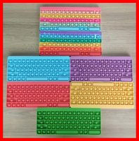 Push Bubble Keyboard Silica Gel Fidget Toy Educational Silicone Stress Relief Decompression Toys For Children 6 Colors Optional