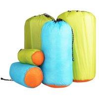 Sacs extérieurs Sac à cordon sec ultra léger Vêtements en nylon étanche Tri des bagages alpinisme équipement de camping ciel-bleu s