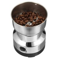 Electric Coffee Grinders Stainless Steel Bean Grinder Home Grinding Milling Machine 220V EU Plug Accessories Kitchenware