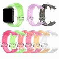 Transparent Strap For Xiaomi Watch Lite Redmi Wristband Soft TPU Replacement Watchband Bracelet Smart Accessories