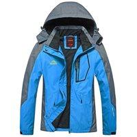 Women's Jackets Woman Camping Jacket Windbreaker 3 In 1 Hood Female Waterproof For Hike Trekking Camp Climb Ski Cycling