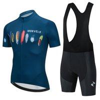 2021 사이클링 여름 의류 프로 모블로 팀 저지 키트 남성 짧은 소매 세트 MTB 옷 자전거 유니폼 Ropa Ciclismo Hombre