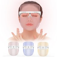 Professional LED Photon Light Therapy Mask Beauty Device Face Tightening Whitening Anti-Aging Skin Care Tools LED Facial Mask
