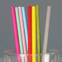 친환경 다채로운 종이 밀짚 마시는 빨 대 19x0.6cm 결혼 생일 파티 패션 장식 크리스마스 제품 공급 Dwe9068