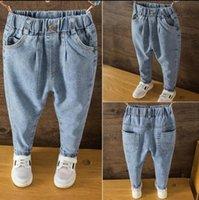 Jeans Boys Spring&Autumn Kids Trousers Baby Pants Infantil 2021 Children's Clothing Children 2-7Y