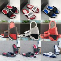 5 5s Hydro Slides Pantofole IV 4 4S Slide sandali neri Jumbman 11 11s blu Blu bianco rosso scarpe da basket scarpe da ginnastica sportive casual