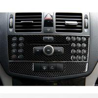 Garniture de couvercle du panneau CD Console de CD-Centre pour Mercedes Benz W204 C Class C
