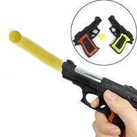 يمكن لمسدس طرد البلاستيك الجديد النار الرصاص، الأطفال محاكاة بندقية مقابل لعبة اليد