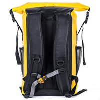 Novo 500D de mochila à prova d'água ao ar livre natação à deriva camping saco de armazenamento de praia grande capacidade S5ZM