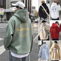 Short Men Hoodie Sweatshirts Hip Hop Unisex Streetwear Printed Hooded Trui Harajuku Herfst Winter Pocket Fashion Coat Hoodies
