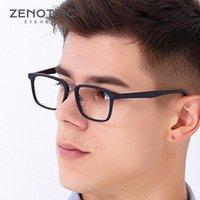 Rétro acétate verres carrés cadre hommes vintage optique myopia lunettes de style de commerce lunettes de vue de lunettes de lunettes de soleil mode lunettes de soleil