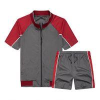 Men's Tracksuits Mens Casual Tracksuit Summer Clothes Sportswear Sports 2 Pieces Sets Hombre Men Tops T Shirts Shorts S-XXL