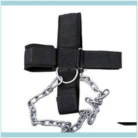 Resistance Bands Equipments Supplies Sports & Outdoorshead Harness Belt Strap Exercise Weight Strength Lifting Chain Neck Fitness Drop Deliv