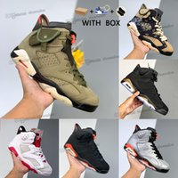 Air Jordan 6 Retro aj6 6s Jordans Jumpman Electric Green Mens Infrared Reflective Basketball Shoes react Carmine Travis Cactus men women Gold Hoops Dmp Black Trainer Sneakers