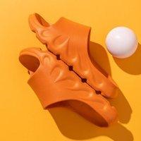 Whoelsale sandali densici spessici donne uomini pantofola fiamma bagno casa famiglia paio di paio di pantofole in gomma morbida EVA maschio EU36-45