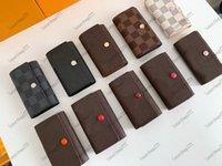 Luxurys Designers Çanta Sabitleme Tuşları için Altı Mandalı 62630 Pratik ve Güzel Anahtar Paket Birden Çok Renk Seçilebilir