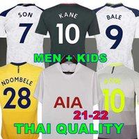 الرجال + أطفال 20 21 22 22 Kane Son Bergwijn Ndorbomele Soccer Jerseys 2020 2021 توتنهام ديل جيرسي كرة القدم قميص لو سيلسو مورجان بيل لاميلا 4th Højbjerg