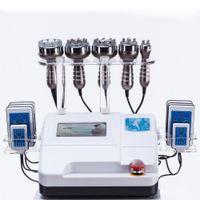 Ультразвуковая кавитационная частота Липо для похудения Машина для похудения Вакуумная RF Кожа затягивает красоту Оборудование