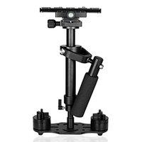 Lidar com Pogador de Estabilizer Vídeo Alumínio Liga Handheld SteadyCam DSLR Steadicam Camcorder Estabilizadores