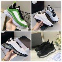 أحذية رياضية ماركة فاخرة مصمم رياضة الأزهار الديباج جلد طبيعي المرأة حذاء من قبل Home011 50