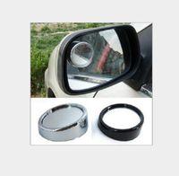 2021 2 قطعة / الوحدة سيارة الرؤية الخلفية مرآة HD 360 درجة السلامة زاوية واسعة الزاوية عمياء السيارات مرآة الرؤية الخلفية وقوف السيارات جولة محدب الملحقات