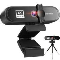 2K 4K Conference PC Webcam Autofocus USB Web Camera Laptop Desktop For Office Meeting Home With Mic 1080P HD Web Cam