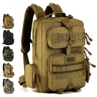 Backpack Men Outdoor Cycling 30 Liters Camouflage Mountaineering Bag Multi-bag Tactical Woman Military Fans Sports