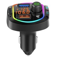 Bluetooth Player Charger Car Cigarette Lighter Fast BC66PD Charge Card T5O5 Audio