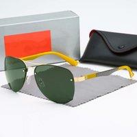 أزياء الرجال الرجعية aviator النظارات الشمسية النساء الكلاسيكية الطيار الرياضة hd الاستقطاب نظارات الشمس الضفدع مرآة عالية الجودة القيادة نظارات للجنسين 3449