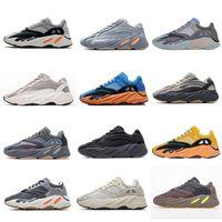 Yeezy 700 V2 Running shoes Kanye West Inertia Reflective Tephra Fest Grau Utility-Schwarz Männer Frauen Sport Sn Trainer Eur 36-45