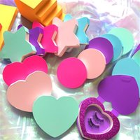 Storage Bottles & Jars Eyelash Pink Heart Star Shaped Packaging Box Wholesale Lashes Boxes Empty Magnet Package Case 8-25mm