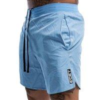 Men's Shorts Men Fitness Bodybuilding Man Summer Gyms Workout Male Breathable Quick Dry Sportswear Jogger Beach Short Pants