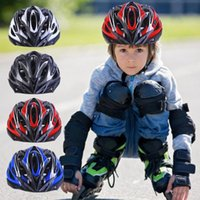 Cycling Caps & Masks Outdoor Sports Children's Helmet Electric Bicycle Skating Protective 50-54cm For Child MTB Road Bike