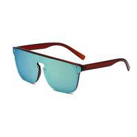 1082 الجملة مصمم النظارات الشمسية النظارات الأصلية ظلال الهواء في الهواء الطلق إطار الأزياء الكلاسيكية سيدة المرايا للنساء والرجال نظارات للجنسين