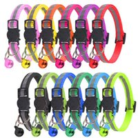 Cat Collars & Leads 2021 Kitten Accessories Cats Products For Pets Harness Pet Collar Supplies