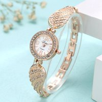 Relógios de pulso relógio de pulso mulheres mulheres pouco disque feminino lvpai moda luxo ouro anjo asas cinta diamante senhoras relógios casuais relógio