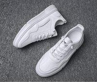 أعلى الأحذية الرياضية أحذية الرجال السبورة الصغيرة زيادة الشباب الجري الخفيف والمريحة تنفس غير زلة سخية 1 exquite Size39-44
