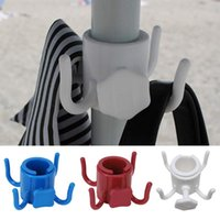 Hooks & Rails 4 Prongs Stable For Towel Bag Pool Accessories Adjustable Hanging Durable Lightweight Easy Install Outdoor Beach Umbrella Hook