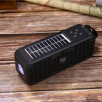 JZ131B Outdoor Sports Portable Mini Wireless Bluetooth Speaker Can Be Charged by Solar Energy 4Colors
